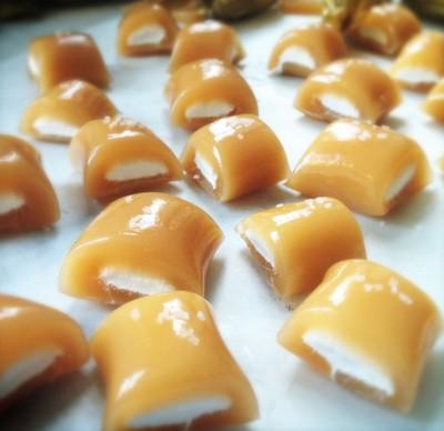 karamellás pillecukor