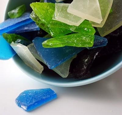 üvegszilánk cukor